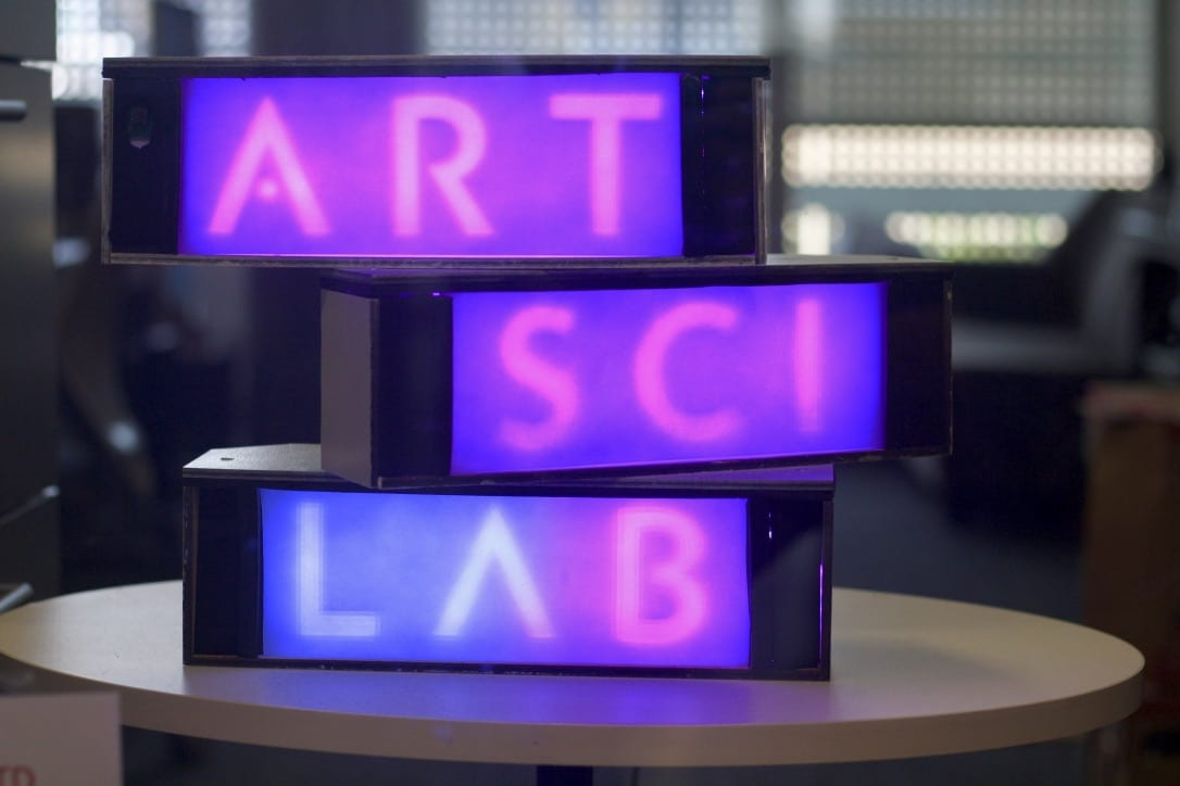 New Interactive Modular Sculpture for the Lab Window